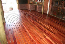 Our wooden floors are high quality.