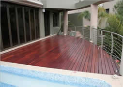 Our balconies and decks are treated to withstand the elements of nature.