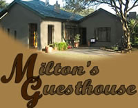 Milton's Guest House Accommodation in Thabazimbi