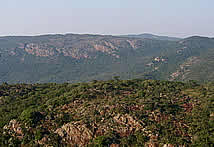 The Soutpansberg mountain range at Louis Trichardt